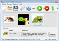flash image slider met hyperlink Flash Banner Html